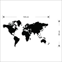 Removable Wall Sticker – World Map
