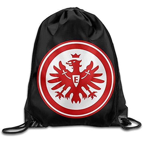 wallxxj Cinch-Taschen Eintracht Frankfurt Besondere Geschenkschule Kordelzug Taschen Kordelzug Rucksack Wandern Casual Unisex Cinch Taschen Student Casual Print Mode Durable Travel