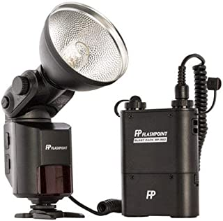Flashpoint SL-360K1 StreakLight 360 Watt-Seconds Flash with Blast Power Pack (Black)