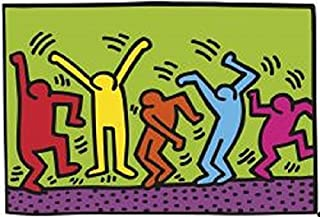1987, Dance Keith Haring Abstract Contemporary Figurative Poster (Choose Size of Print)