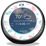 MightySkins Skin Compatible with Amazon Echo Spot - Paper Flowers | Protective, Durable, and Unique Vinyl Decal wrap Cover | Easy to Apply, Remove, and Change Styles | Made in The USA