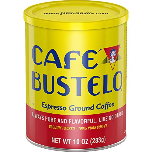 Café Bustelo Espresso Dark Roast Ground Coffee, 10 Ounces