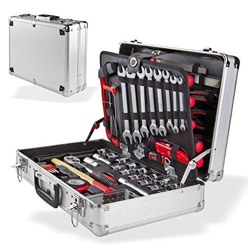 DEMA Alu Werkzeugkoffer 109 tlg
