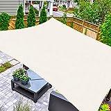 HAIKUS Tenda a Vela Quadrata 5x5 Metri, Traspirante, Protezione Raggi UV 98%,...