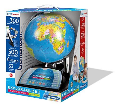 Clementoni–52267-exploraglobe Premium–Le Globe interactiva évolutif-jeu educativo (versión en francés)