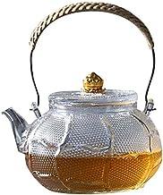 KETTLES Keuken Eenvoudige Theepot Bloeiende Thee Glas Theepot Hittebestendig Transparant Koken Thee Huishoudelijke XMJ