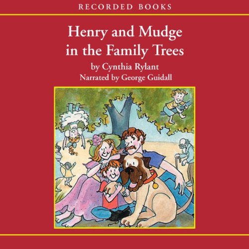 Henry and Mudge in the Family Trees audiobook cover art