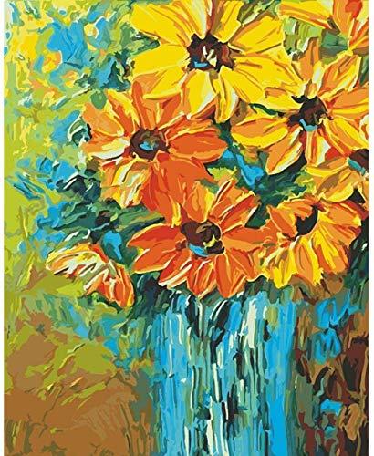 YYTTLL Rompecabezas Ni?os Adultos Rompecabezas De Madera 1000 Piezas DIY Rompecabezas Entretenimiento Decoración del Hogar Sol Flor Monet Van Gogh Flor 50Cmx75Cm