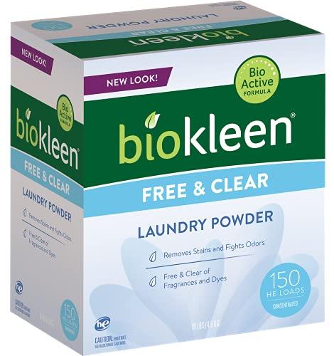 Polvo de lavandería transparente y libre de Biokleen Imagen del producto
