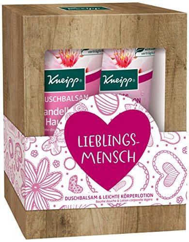 Kneipp Geschenkpackung Lieblingsmensch Mandelblüten Hautzart, 2 x 200 ml