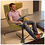 Lounge-Book - Fully Adjustable Ergonomic Laptop Desk. Perfect for Home Workers