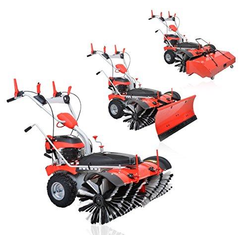 Modell 2021 - PowerPac Typ MK100 - Kehrmaschine Motorbesen Schneeschieber Schneefräse Elektro Start 6,5PS
