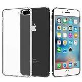 Migeec Funda para iPhone 6s Plus Y iPhone 6 Plus Suave TPU Gel Carcasa Anti-Choques Anti-Arañazos Protección a Bordes y Cámara Premiun Carcasa para iPhone 6s Plus Y iPhone 6 Plus - Transparente