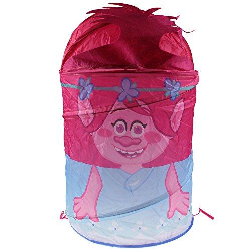 3d Trolls Poppy Filles pop-up Panier de rangement Panier à linge pliable de chambre d'enfant
