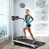 Merax Electric Treadmill Folding Treadmill Motorized Running Jogging Machine for Home 12 Preset Programs