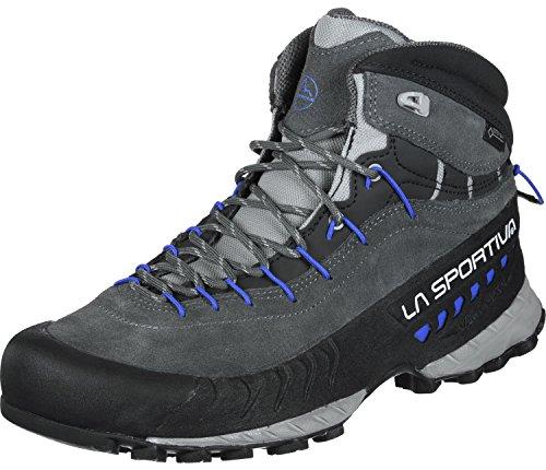 LA SPORTIVA Damen TX4 Mid Woman GTX Trekking- & Wanderhalbschuhe, Mehrfarbig (Carbon/Kobaltblau 000), 38,5 EU