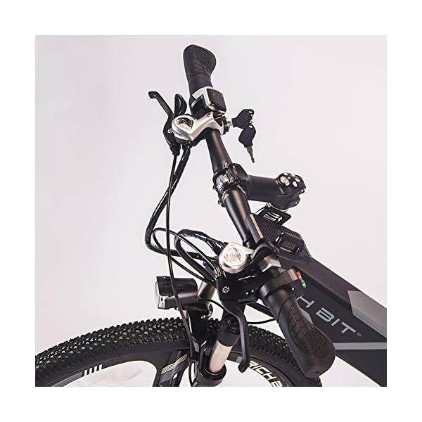 51Ic2i0aRdL. SS600  - RICH BIT RT-860 36V 250W 12,8 Ah klappbares Elektrofahrrad Vollgefedertes City Bike Elek