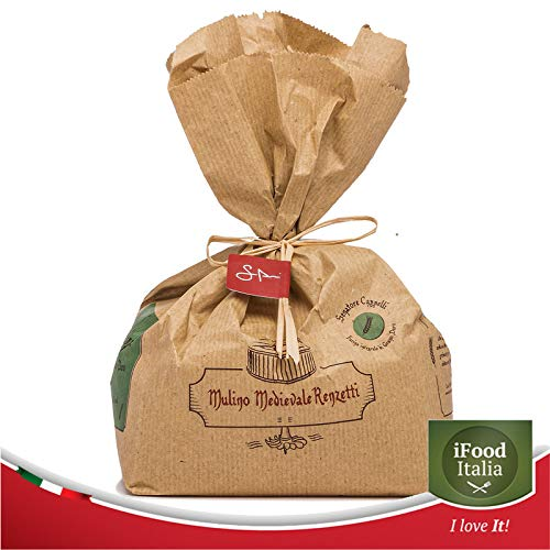 Whole durum Wheat Flour Senatore Cappelli Medieval Mill of The Renzetti Umbria Made in Italy 4x1KG