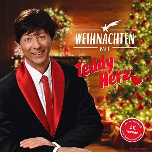 Weihnachten mit Teddy Herz