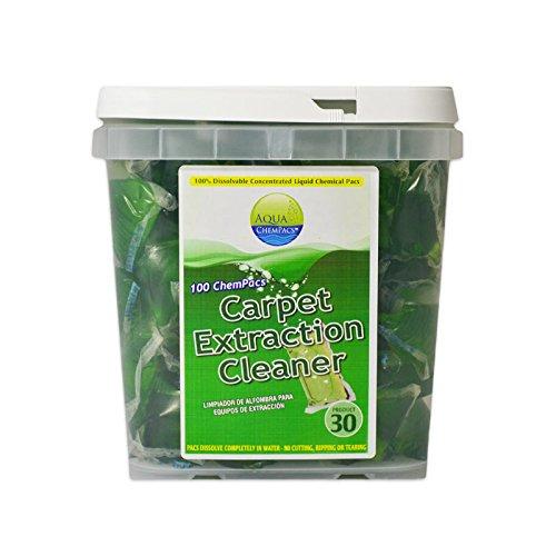Aqua ChemPacs AQ404 Simoniz Carpet Extractor Cleaner, 1 x 100/Tub (Pack of 100)