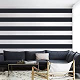 Vinyl Wall Stripes Decal Stripes Wall Sticker Wall Graphic Mural Custom Decals Home Art Decoration (3 Pack)