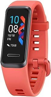 Huawei Band 4 su geçirmez Bluetooth fitness aktivite izleyici, nabız ölçer, spor bandı ve dokunmatik ekran, Amber Sunrise
