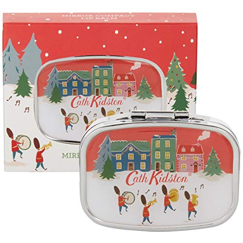 Cath Kidston Beauty Christmas Compact Travel Mirror Lip Balm Care In Gift Box, 6g