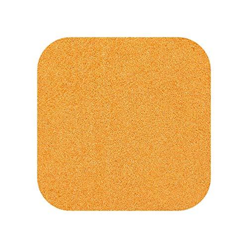 Map Rugs Nursery |Große Schneidezähne Unterschiedliche Größe DIY Bunte Puzzle Matte Schaum Shaggy Teppich Puzzle Matte Plüsch Weiche Teppich Kinder Baby Spielmatten-Orange-1 Stück 30x30cm