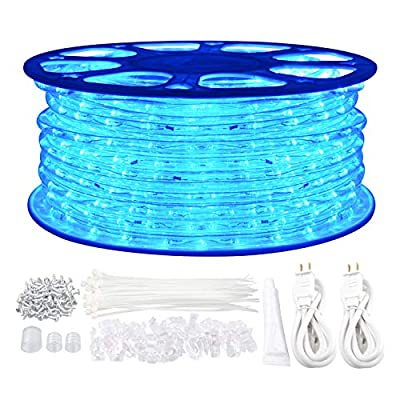 GuoTonG Plugin Rope Light Waterproof