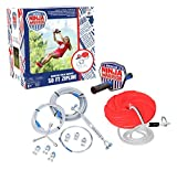 ANW American Ninja Warrior Zipline: (80ft & 50ft Versions) Backyard Zipline, Outdoor Adventure, American Ninja, Camping Zipline (80 ft)
