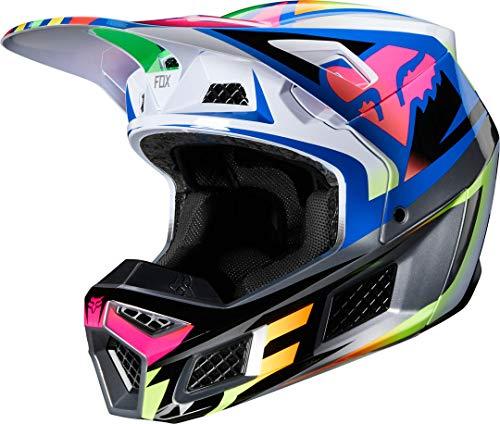 Fox Motocross-Helm V3 Mehrfarbig Gr. L