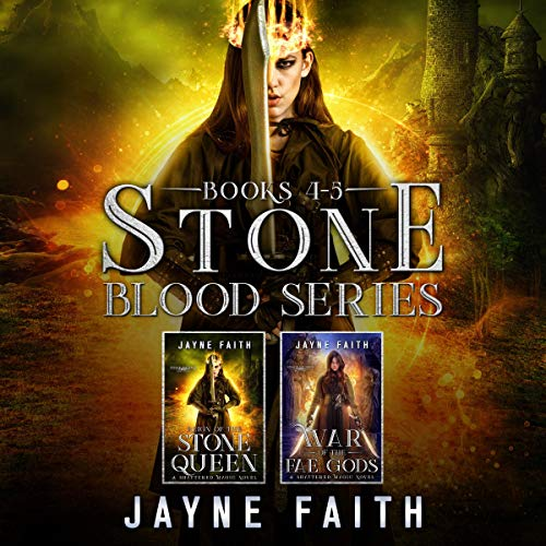 Stone Blood Series Books 4 & 5 Box Set Audiobook By Jayne Faith cover art