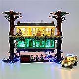 N&G Juego de Luces para decoración del hogar para Lego Stranger Things The Upside Down 75810 Kit de iluminación LED Compatible con Lego Stranger Things The Upside Down (Modelo Lego no Incluido)