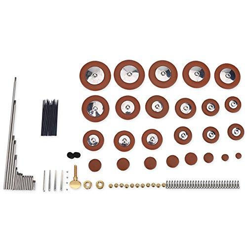 Alto Sax Reparatie Onderdelen Kit Set, 1 Set Alto Saxophone Pad Set Reparatie Onderdelen Kit Schroeven + Nekschroef + Noten + Rietjes + Vilt Kolommen Saxofoon Veren Onderhoud Kit
