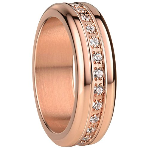 BERING Kombi-Ring für Damen in rosé gold | Twist & Change | Funchal 7
