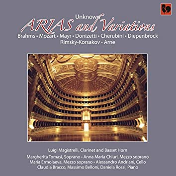 Unknown Arias and Variations