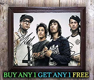 Pierce The Veil Collide The Sky Autographed Signed 8x10 Photo Reprint #36 Special Unique Gifts Ideas Him Her Best Friends Birthday Christmas Xmas Valentines Anniversary Fathers Mothers Day