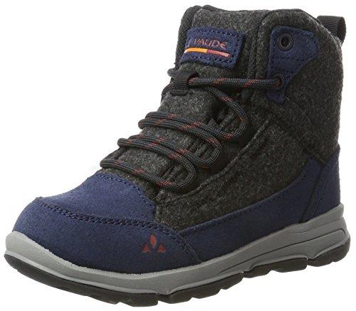 Vaude buty trekkingowe dla dzieci Ubn Kiruna Mid Cpx uniseks, niebieski - Eclipse - 36 EU