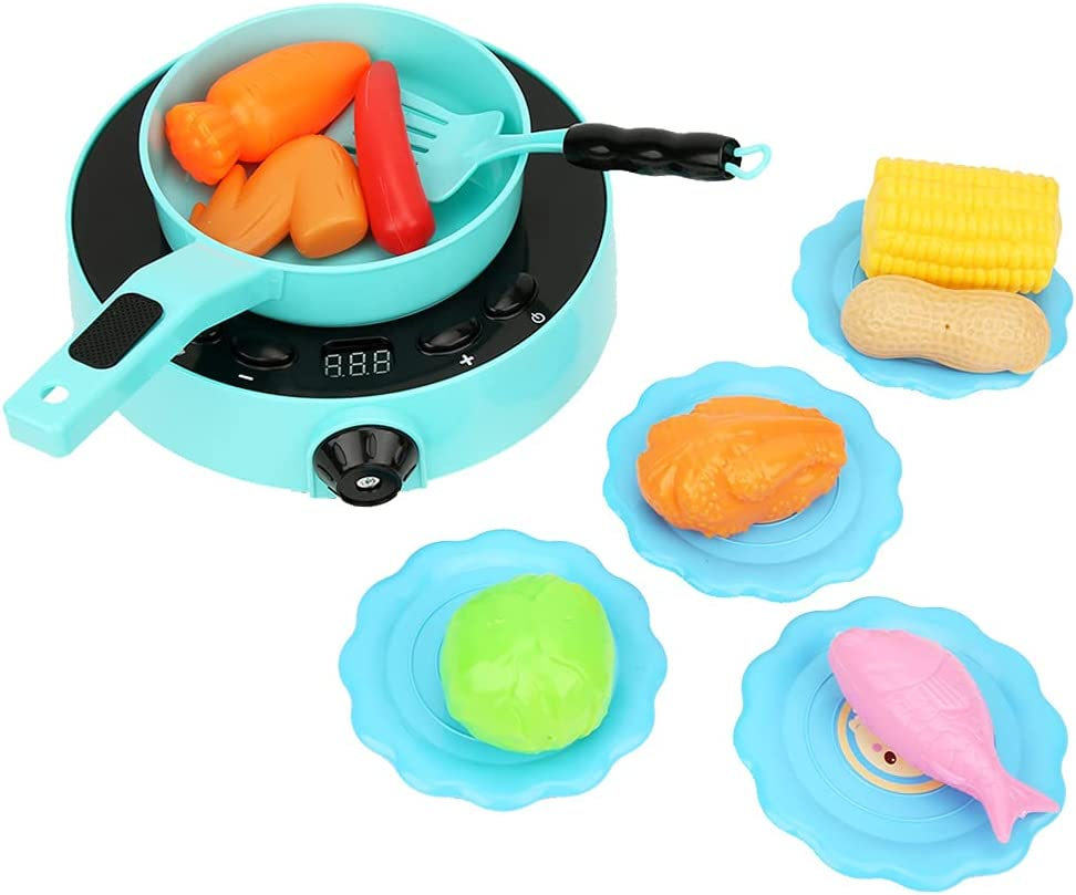 mart Pinsofy Max 70% OFF Kitchen Appliance Toys Induc Electrically Set Simulated