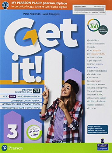 Get it! Per la Scuola media. Con ebook. Con espansione online: 3