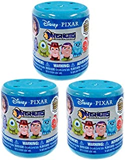 Pixar Disney Mash'Ems Series 2 Disney Mash'Ems LOT of 3 Mystery Packs