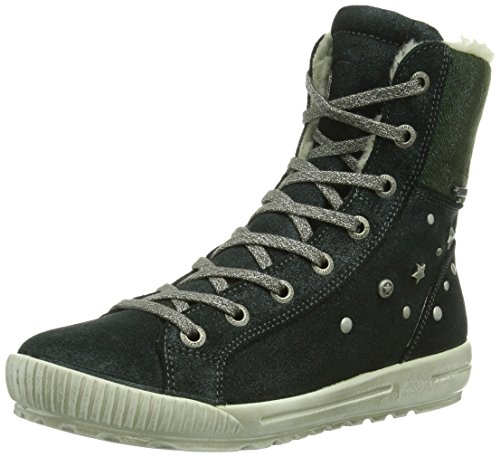 superfit Siena, High-Top Fille Goretex - Vert - Grün (Eucalyptus 33), 31 EU / 12,5 UK Kinder EU