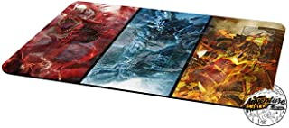 AArt TM Yu-Gi-Oh Gods Obelisk Slifer RA Collage Template 2017 Master Rule 4 Link Zone Playmat TCG Playmat MTG Playmat