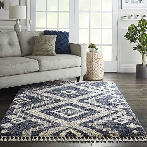 Eine Marke von Amazon - Movian Ogosta - Rechteckiger Teppich, 236,2x160cm (L x B), Geometrisches Muster