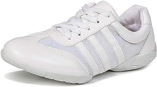 DKZSYIM Women's Split Sole Dance Sneaker/Modern Jazz Ballroom Performance Dance-Sneakers Sports Shoes,Model T01