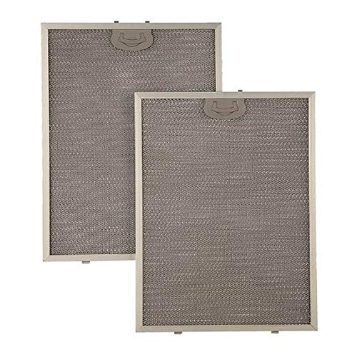 Broan BPPFA30 Replaceable Aluminum Grease Filter With Antimicrobial Protection for 30' QP1 Series Range Hood, Set of 2