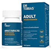 Dr Tobias Adult Multivitamin - Gluten Free (100 count) - Made in Canada