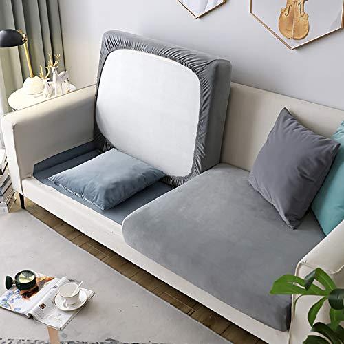 Todo-Incluido Cubierta del Sofá Couch Slipcover,Felpa Cubiertas Seccionales del Sofá Protector,Universal Elasticidad Fundas para Cojines Decoración del Hogar-G M