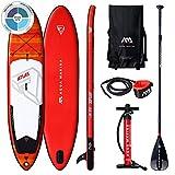 AM AQUA MARINA Set de Stand Up Paddle Board Inflable Atlas 2020 iSUP Espesor 12 Pulgadas Stand-Up Paddling Sup-Board 366 x 84 x 15 cm