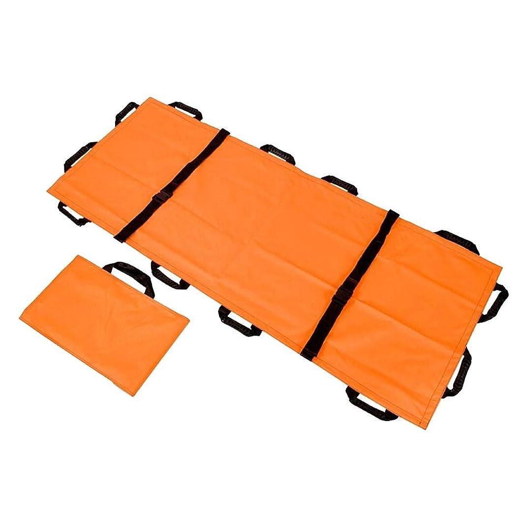 歯科の大陸ウナギViugreum 担架 折りたたみ 布担架 180×70cm 簡易担架 患者移動用シート 安全ベルト 軽量 コンパクト 防災 緊急 非常用